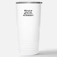 Unique We Travel Mug