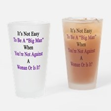 Cute Domestic violence awareness month Drinking Glass