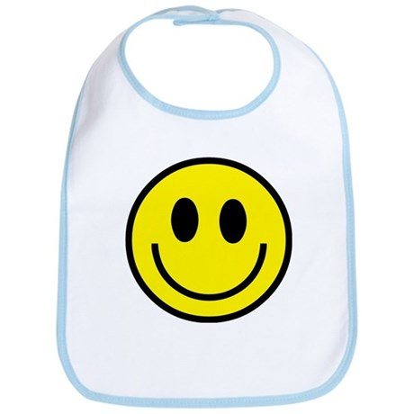 Classic Yellow Smiley Face Bib