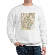 Vintage Map of The Chesapeake Bay(1778) Jumper