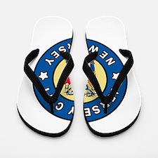 Jersey City New Jersey Flip Flops