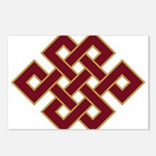 Endless knot Postcards (Package of 8)