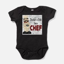 Cute Chef Baby Bodysuit