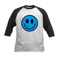 Classic Blue Smiley Face Tee