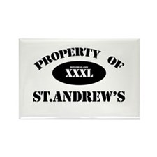 Property of St.Andrew's Rectangle Magnet