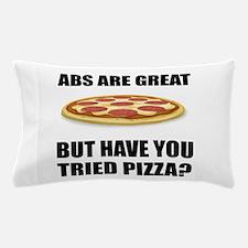 Abdominals Pizza Pillow Case