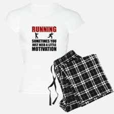 Zombie Running Motivation Pajamas