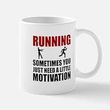 Zombie Running Motivation Mugs