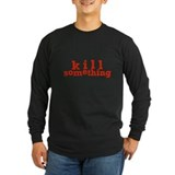 Funny hunting Long Sleeve T-shirts (Dark)