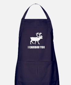 I Caribou You Apron (dark)