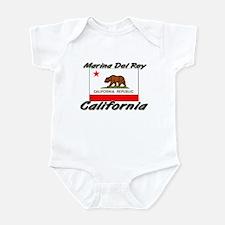 Marina Del Rey California Infant Bodysuit