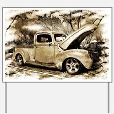 1940 Ford Pick-up Truck Yard Sign