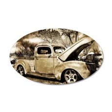1940 Ford Pick-up Truck Wall Decal