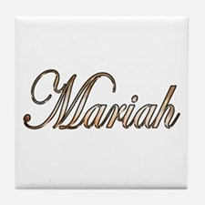 Cute Mariah Tile Coaster