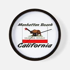 Manhattan Beach California Wall Clock