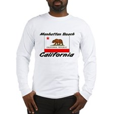 Manhattan Beach California Long Sleeve T-Shirt