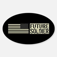 U.S. Army: Future Soldier (Black Fl Decal