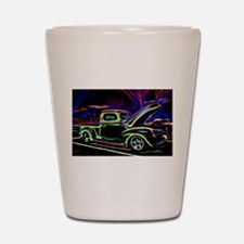 1940 Ford Pick up Truck Neon Shot Glass