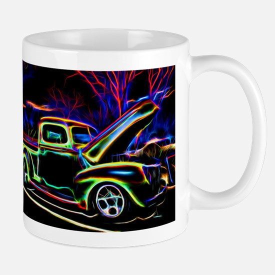 1940 Ford Pick up Truck Neon Mugs