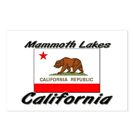 Mammoth Lakes California Postcards (Package of 8)