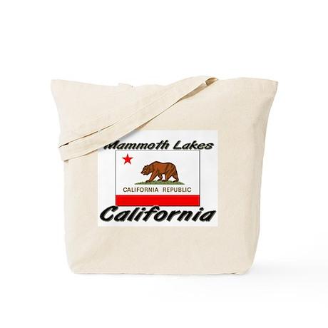 Mammoth Lakes California Tote Bag