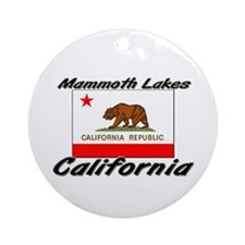 Mammoth Lakes California Ornament (Round)