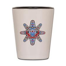 Unique Samoan tribal Shot Glass