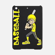 BASEBALL BOY BAT TEXT iPad Mini Case