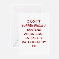 skating Greeting Cards