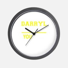 DARRYL thing, you wouldn't understand! Wall Clock