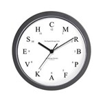 Dressage Arena Wall Clock