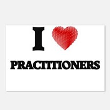 I Love Practitioners Postcards (Package of 8)