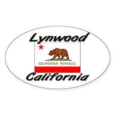 Lynwood California Oval Decal