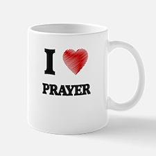 I Love Prayer Mugs