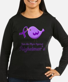 Alzheimers Join the Fight Long Sleeve T-Shirt