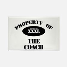Property of the Coach Rectangle Magnet