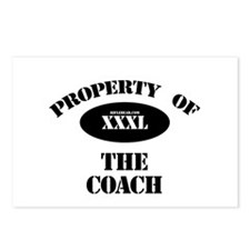 Property of the Coach Postcards (Package of 8)