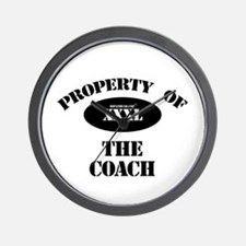 Property of the Coach Wall Clock