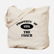 Property of the Coach Tote Bag