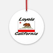 Loyola California Ornament (Round)