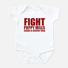 Fight Puppy Mills Infant Bodysuit