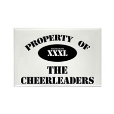 Property of the Cheerleaders Rectangle Magnet