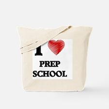 I Love Prep School Tote Bag