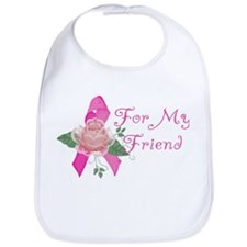Breast Cancer Support Friend Bib