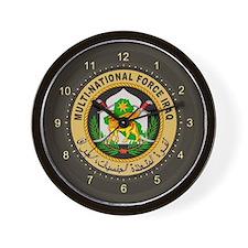 Iraq Force Wall Clock