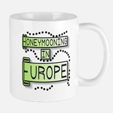 Green Honeymoon Europe Mug