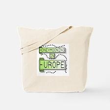 Green Honeymoon Europe Tote Bag