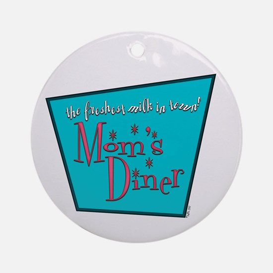 Mom's Diner Lactation Ornament (Round)
