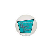Mom's Diner Breast Milk Mini Button (100 pack)