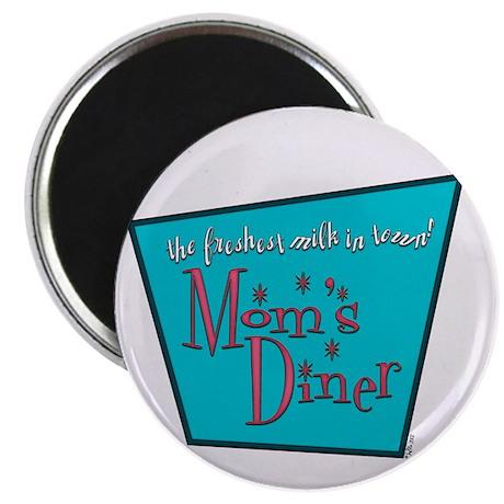 """Mom's Diner Breast Milk 2.25"""" Magnet (10 pack)"""